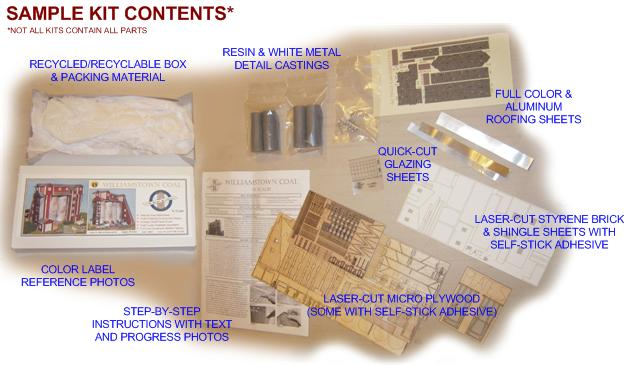 Sample Kit Contents
