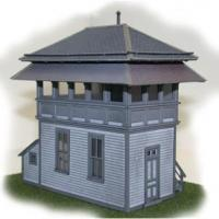 Lehigh Valley Railroad Standard Wood Tower - Front View