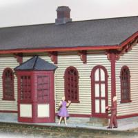 Cranston Station - Front View