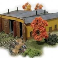 Conway Roundhouse Model - Front View