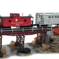 Trackside Series – Flat Car Bridge Kit