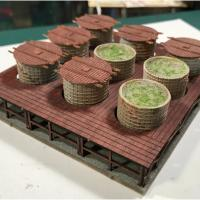 Pattersons Pickle & Brine Pickle Vat Expansion - Completed Model