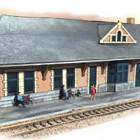 Lines West Station Model - Front View