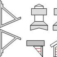 Dormers, Roof Vents & Brackets - N