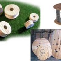 Wooden Cable Reel Assortment - N