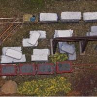 Stone Train with Wagons & Loco - N