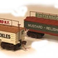 Enclosed Pickle Car Kit – Assembled & Painted Samples