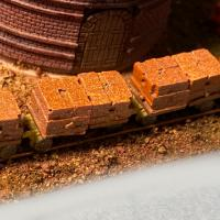 Brick Carts (Set of 4)