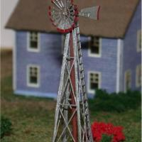 American Windmill Etched Brass Kit - Z Scale