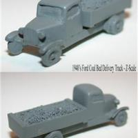 Coal Delivery Truck - Z Scale