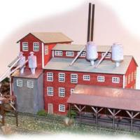 Long Valley Lumber Laser-cut Z Scale Kit.