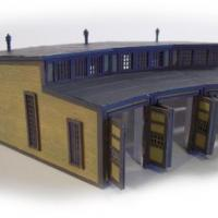 American Round House - Laser Cut Z Scale Kit