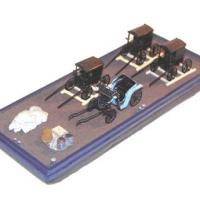 Flat Deck Barge Kit - Front View