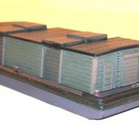 Covered Barge Kit - Left View