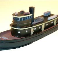 Diesel Tug Boat Kit - Front View