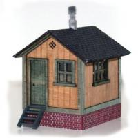 Waterville Switchman's Shanty - Front View
