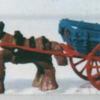 Farmer's Cart with Horse - N