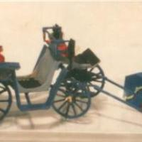 Victoria Carriage with Horse - Z