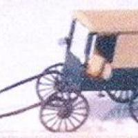 Amish Buggy w/Horse - Z