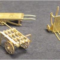 Luggage Carts - Assembled Models
