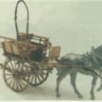 Surrey Trap with Horse - N