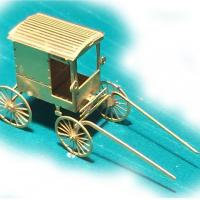 Amish Buggy - Front View