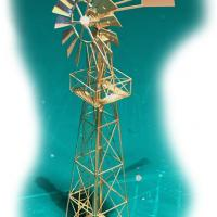 Wind Mill Water Pump - Front View
