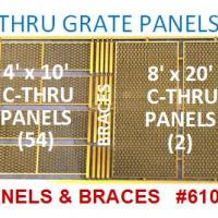 C-Thru Grating Panels - Detailed View