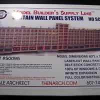 Curtain Wall System HO Kit - BOX SET