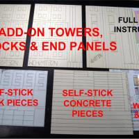 Curtain Wall System HO Kit - Tower Kit Contents