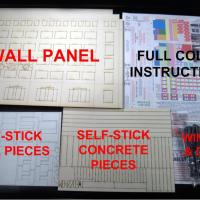 Curtain Wall System HO Kit - Kit Contents