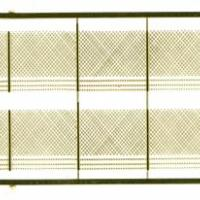 12' Security Fence w/Gates, Barbed Wire & Posts - 140 Z-Scale Feet