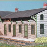 Branchville Station - Front View