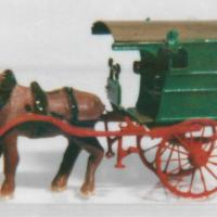 Dry Goods Van N Kit Shown w/Harness Horse (#20105)