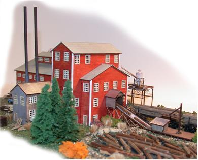 Faller 222181 Sawmill Weathered N Scale Building Kit