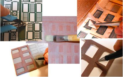 Wall Panel System Ho Add On Kit Brick Wall Sheets