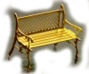 Lattice Back Park Benches - N